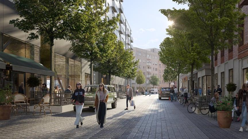 Så ska Haga Norra bli Stockholms mest trivsamma stadsdel