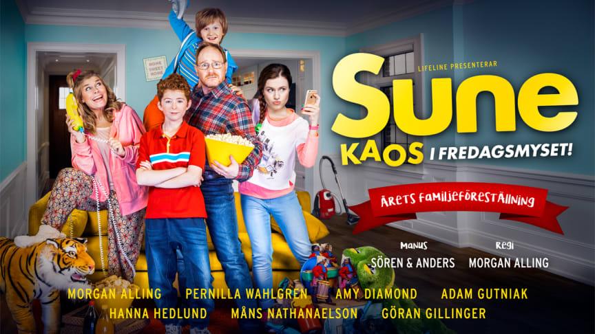 """Sune - Kaos i fredagsmyset"" till Skandiascenen"