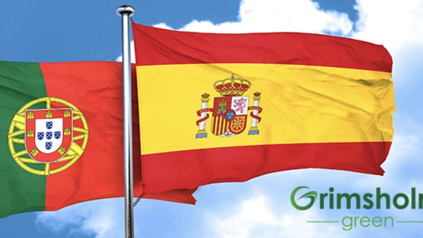 Spain and Portugal – next out for Grimsholm Green!