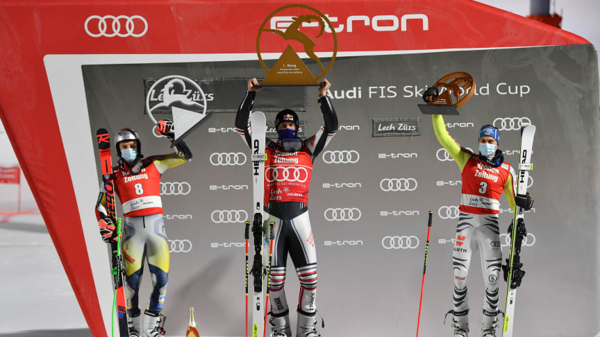 Alexis Pinturault wins the Parallel Slalom in Lech/Zürs