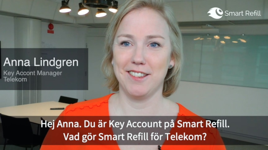 Anna Lindgren, Key Account Manager Telekom