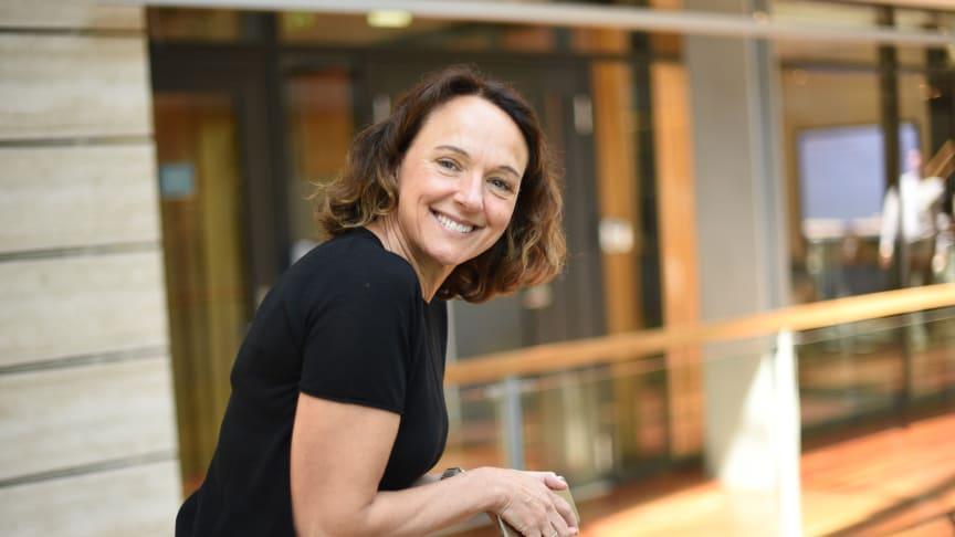Godt innhold er en sterk trafikkdriver, sier Birgit Bjørnsen, leder for bredbånd og TV i Telenor Norge.