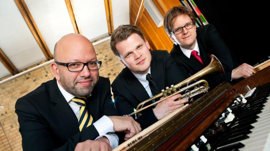 Klassisk blues- och orgeljazz med Trinity på Vara Konserthus