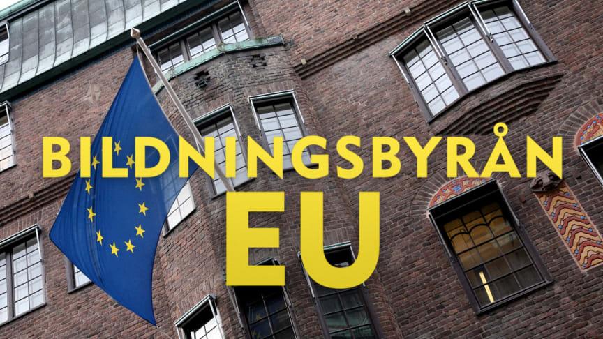 UR:s Bildningsbyrån ger kunskap om hur vi kan påverka EU:s utveckling