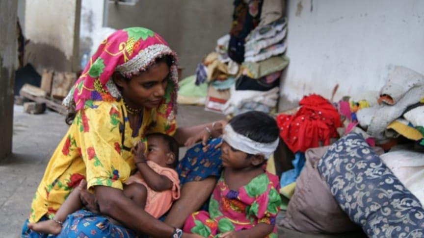 Rädda Barnen ökar insatserna i Pakistan