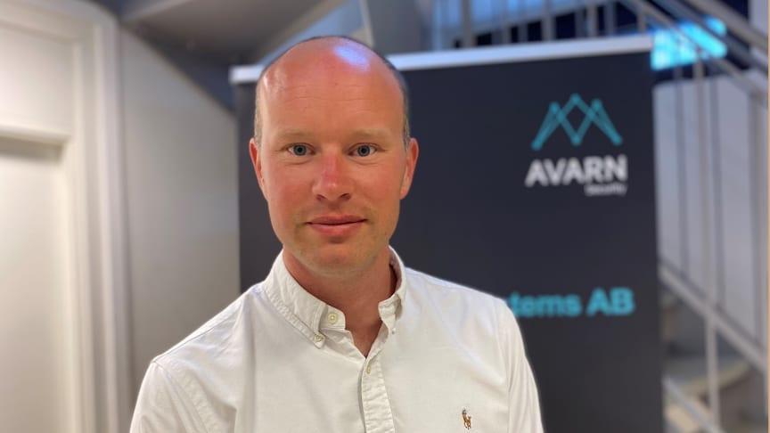 Niclas Gerdbo, ny distriktschef i Malmö.