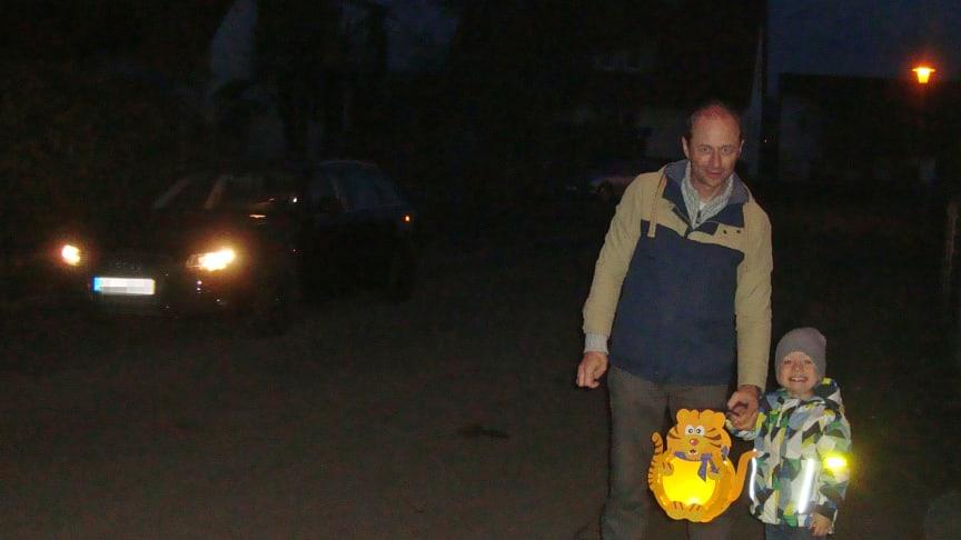 ARCD: Erhöhte Vorsicht im Straßenverkehr am Martinstag!