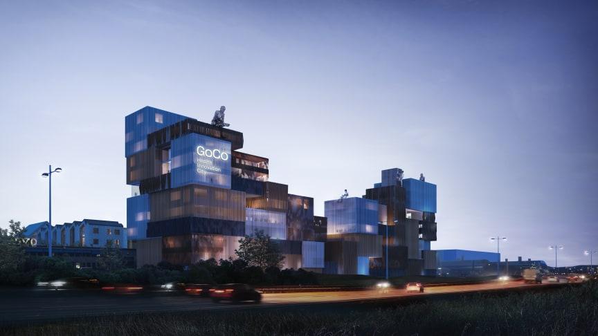 Nu byggstartas GoCo House som blir signaturbyggnaden för storsatsningen GoCo Health Innovation City.