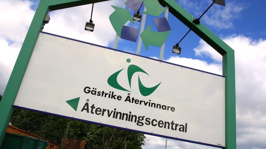 Ny återvinningscentral i Älvkarleby