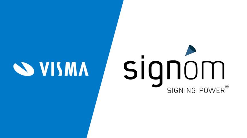 Visma ostaa sähköisen allekirjoituksen ratkaisuja tarjoavan Signom Oy:n.