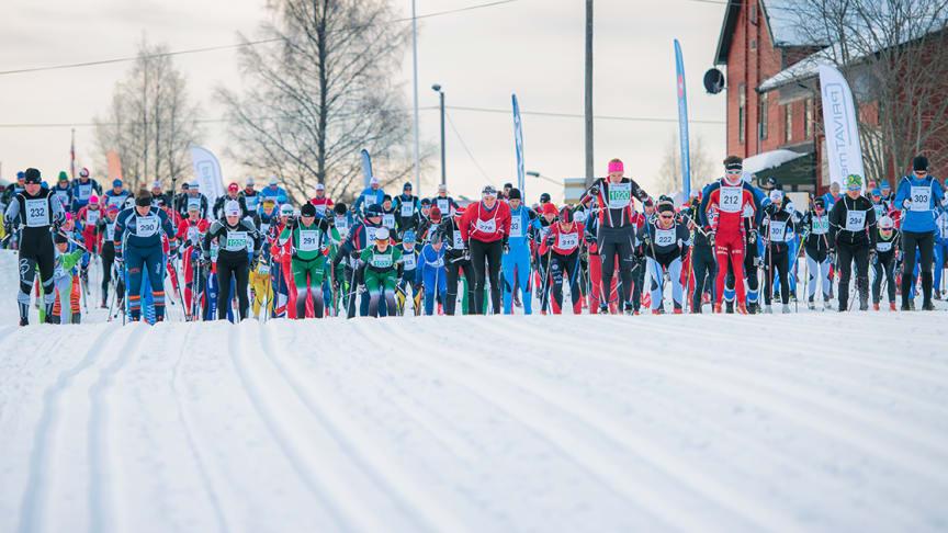 Forventet økt deltakelse etter at Trysil Skimaraton fikk Visma Ski Classics Challengers-status. Foto: Hans Martin Nysæter