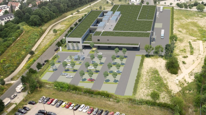 Aurelis baut Kompetenzzentrum für die BMW Group (Copyright: 3dkad Visualsierungsgesellschaft München)