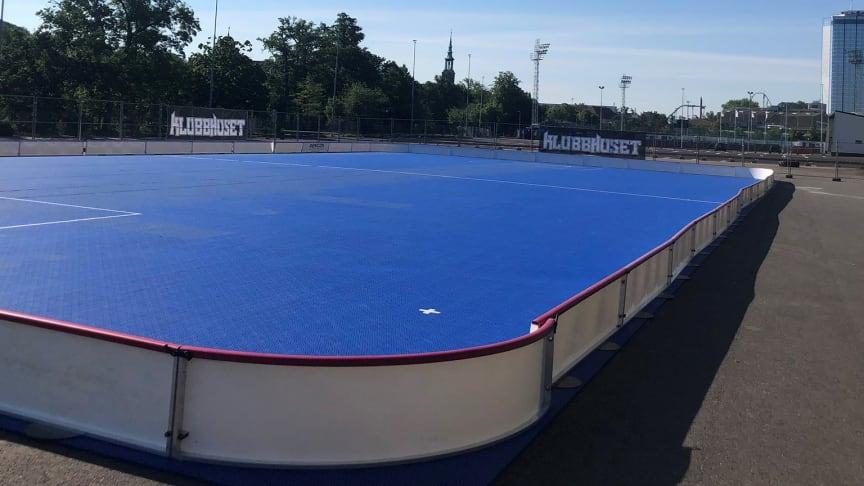 Ny arena för innebandy i Göteborg under sommaren