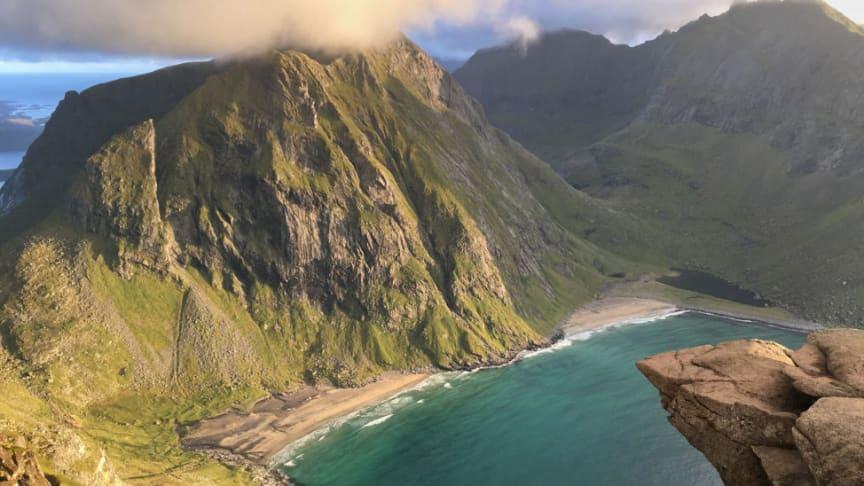 Naturperlen Lofoten. Foto: Fjelljo AS