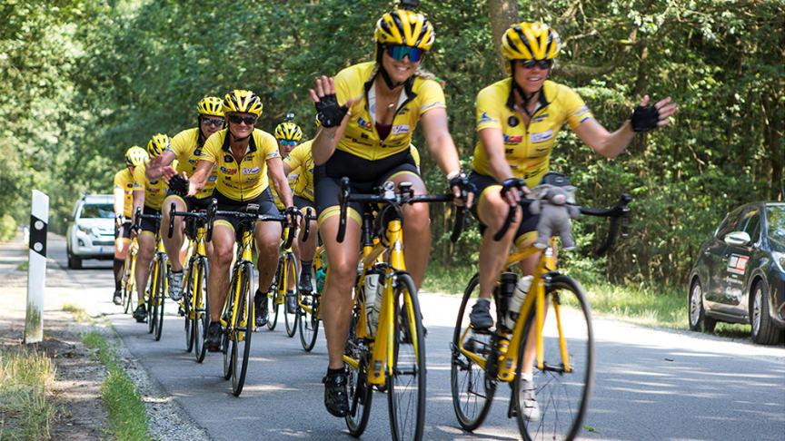 Varje år cyklar Team Rynkeby till Paris till förmån för svårt sjuka barn. 2020 ställde man inte in - man ställde om.