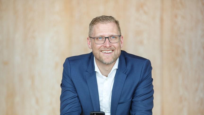 Lars Appelqvist, vd på Löfbergs