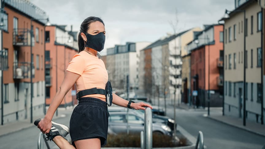 Made in Sweden: IAMRUNBOX launches the first face mask designed for active people