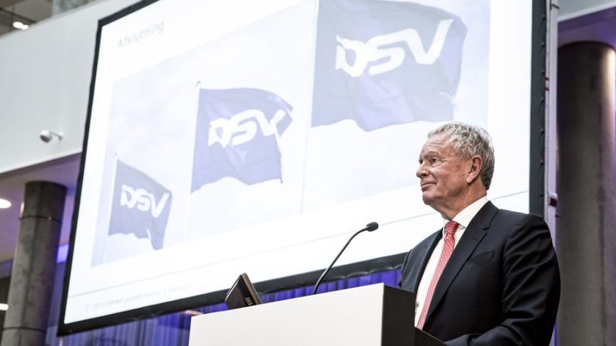 Kurt K. Larsen at the DSV AGM in 2017