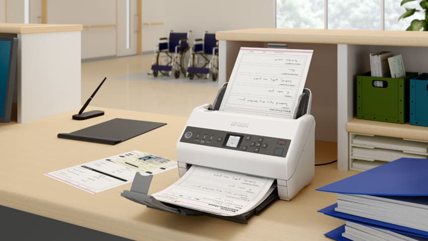 Epson's new WorkForce series business scanners: fastest quality scanning capability yet
