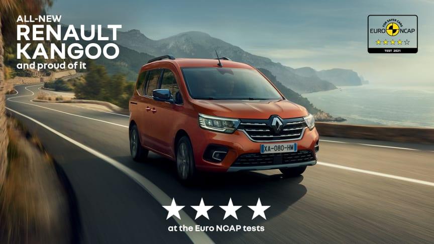 Fire flotte stjerner til Renault Kangoo