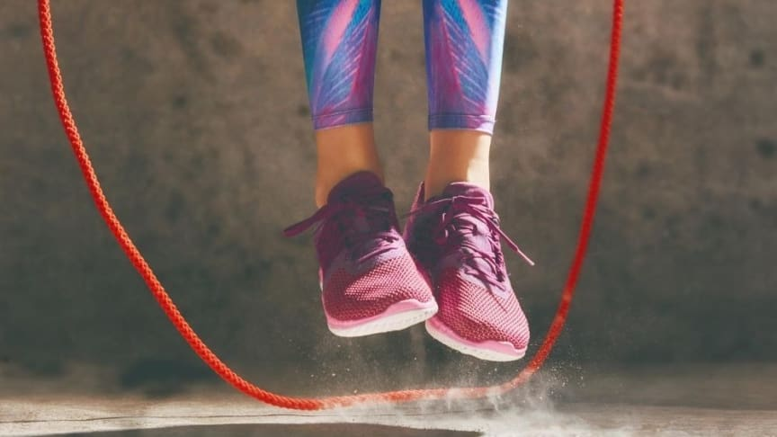 The study showed that impact training such as skipping led to meaningful improvements in participants' bone and muscle health