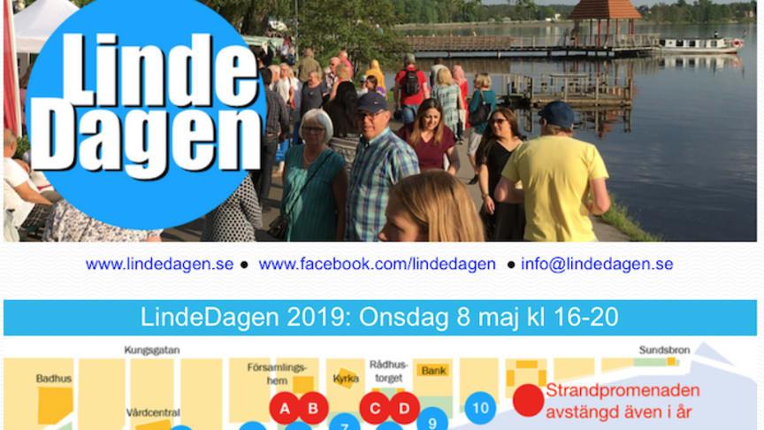 Idag: LindeDagen i sjöstaden Lindesberg kl 16-20
