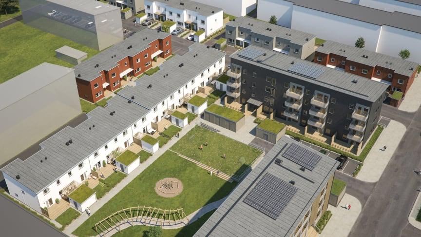 BoKlok bygger seniorboendet SilviaBo och utvecklar stadsdelen Drottninghög inför H22 City Expo i Helsingborg