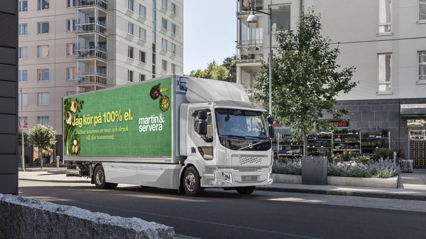 Pressbild Volvo - bildmontage.
