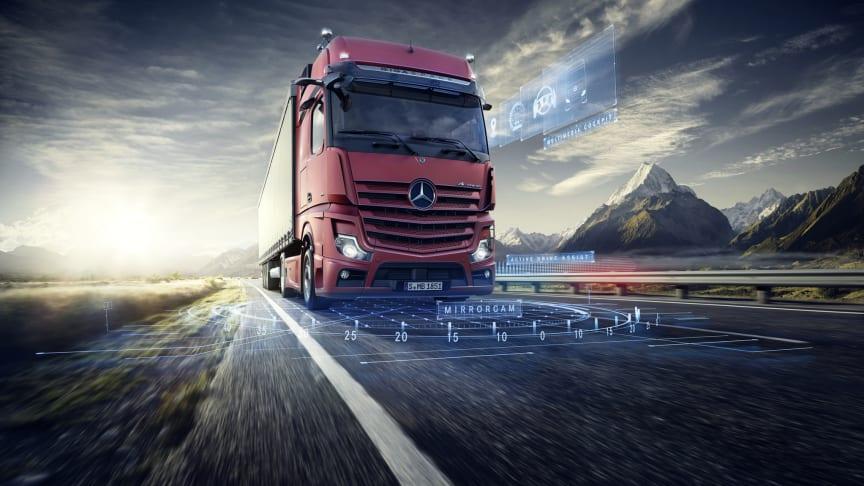 Mercedes-Benz Trucks øger markedsandel i 2019
