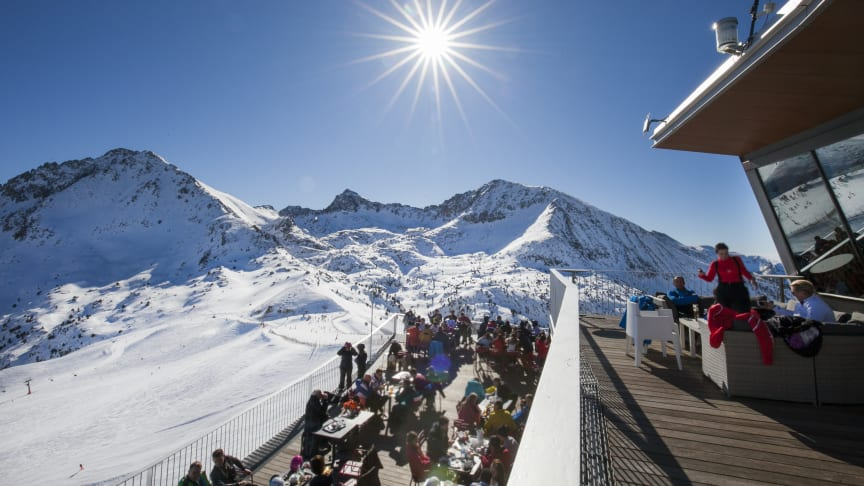 Andorra, solsäkert och snösäkert.