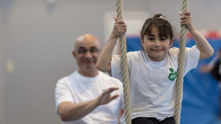 En Frisk Generation sprider rörelseglädje till alla barnfamiljer