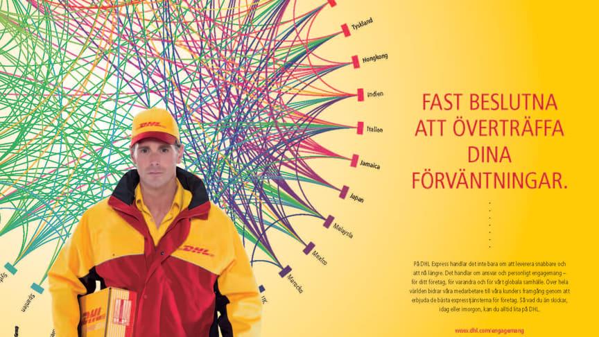 DHL storsatsar på nytt globalt integrerat reklamkoncept