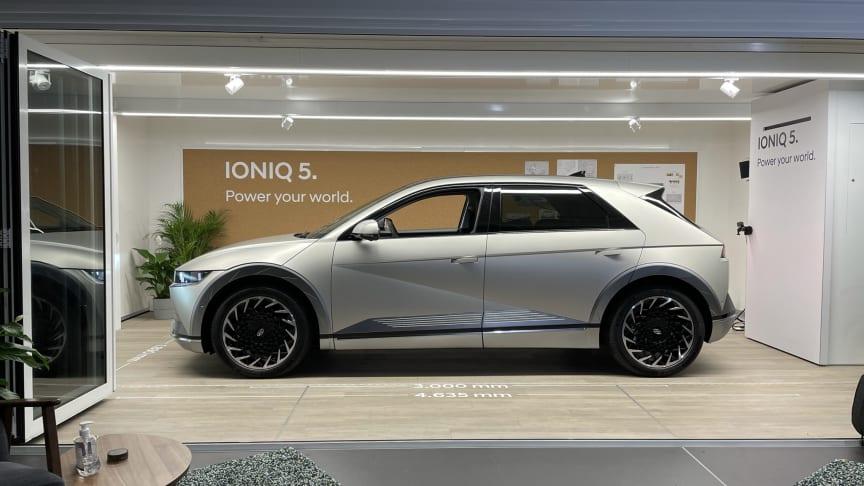Hyundai IONIQ 5 på plass i Norge. Foto: Hyundai