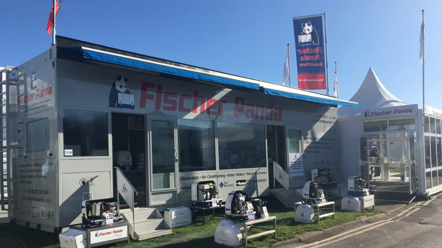 Fischer Panda UK's display trailer will be at the Verwood headquarters to welcome visitors for appointments next week