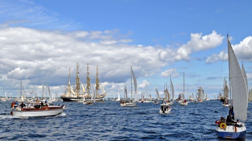 Immer etwas los in Kiel zu Wasser und an Land!