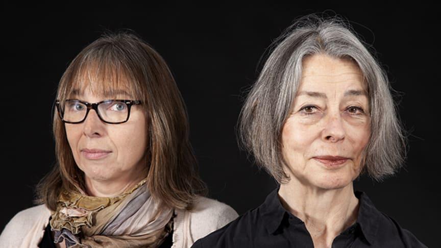 """Anna Fredriksson och Åsa Moberg släpper en podd under arbetet med den nya boken """"De omöjliga"""". Foto: Olivia Borg"""