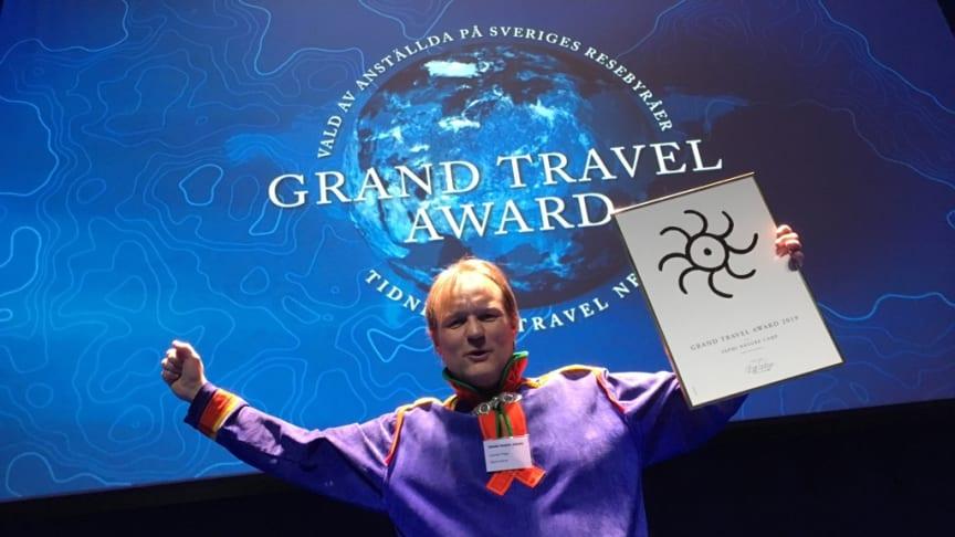 Lennart Pittja, Sapmi Nature, vinnare av 2019 års Grand Travel Award Ekoturismpris.