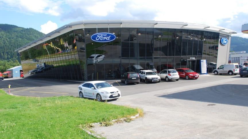 Melhus Bil blir ny Ford-forhandler i Orkanger