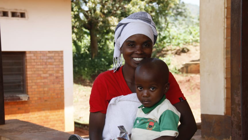 Children like Kenny benefit from UNICEF's and Panalpina's aid in Burundi