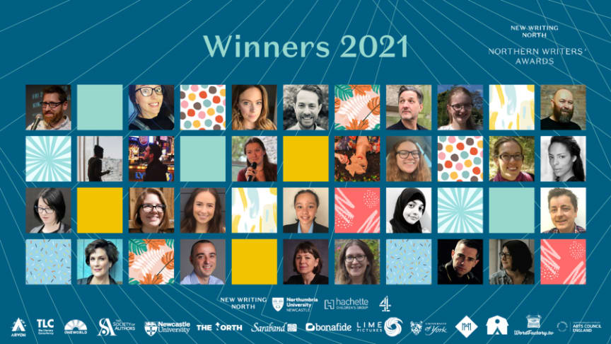 27 writers share £47,000 worth of awards at Northern Writers' Awards