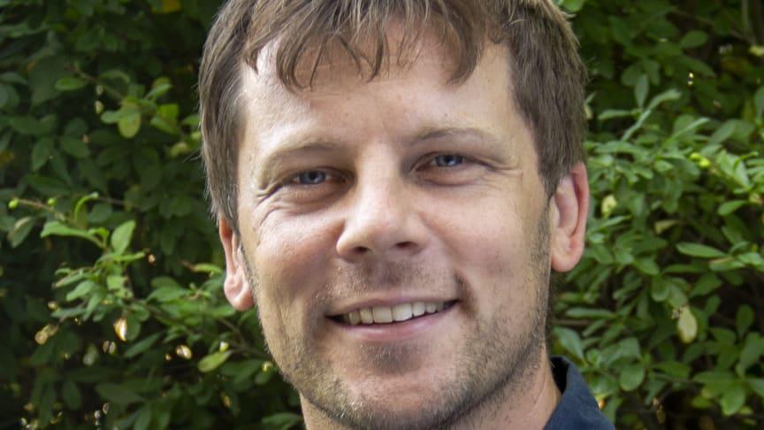 Joel Sverker, humanitär samordnare på Svenska missionsrådet