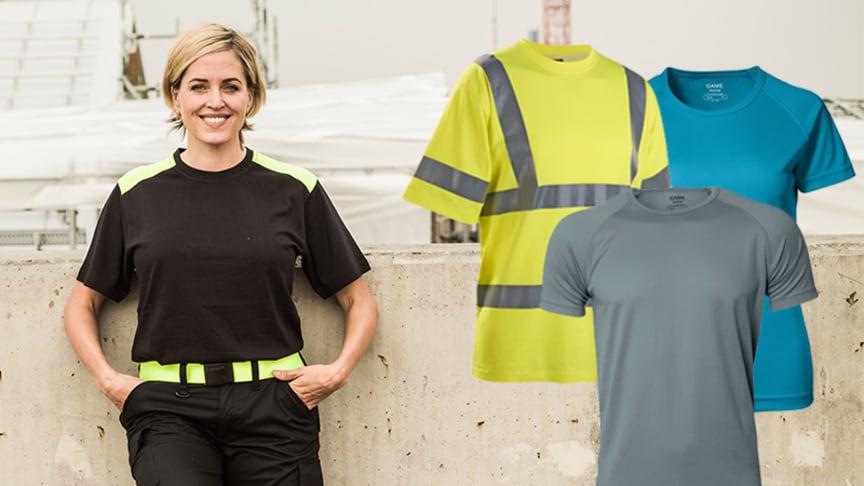 Välj säsongens hållbara och skönaste T-shirts