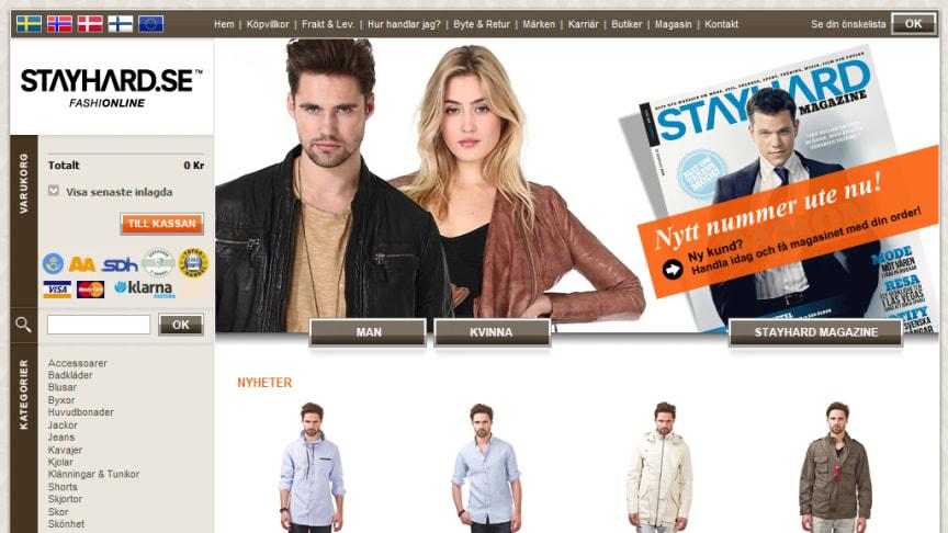 Stayhard.se nominerad till Årets Komet och Årets Tekniska lösning