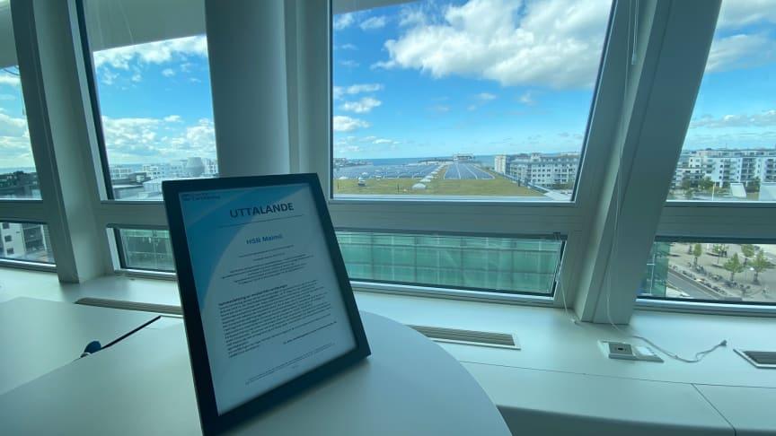 HSB Malmö tar ytterligare miljökliv – får ISO 26000-verifiering
