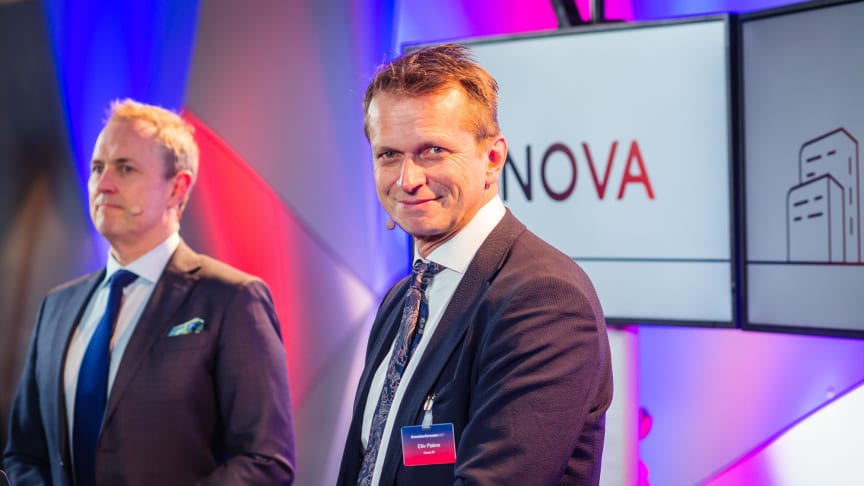 ENOVA-TV: Programleder Per-Henrik Stenstrøm og kommunikasjonssjef Eiliv Flakne er som i fjor på plass med tv-sendinger også i pausene.