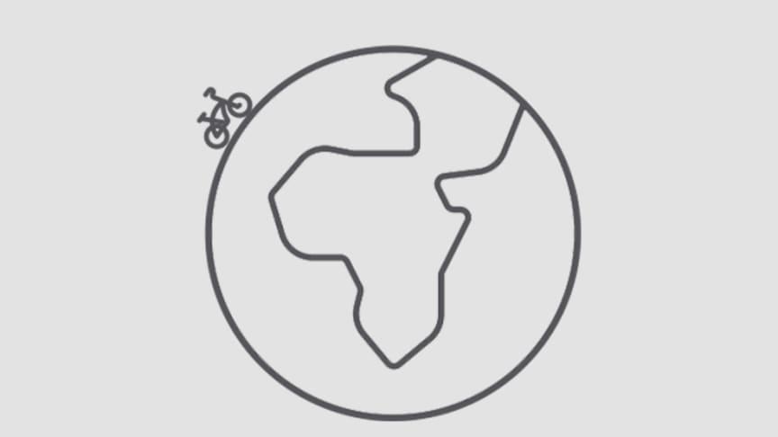Cyklister med Hövding har sedan september cyklat den imponerande sträckan av 1 miljon kilometer.