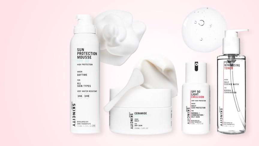 Endelig er de her: SKINCITY skincares solprodukter