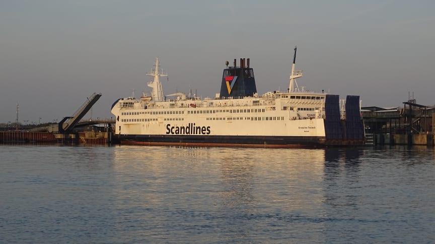 Scandlines nimmt Frachtfähre auf Puttgarden-Rødby in Betrieb