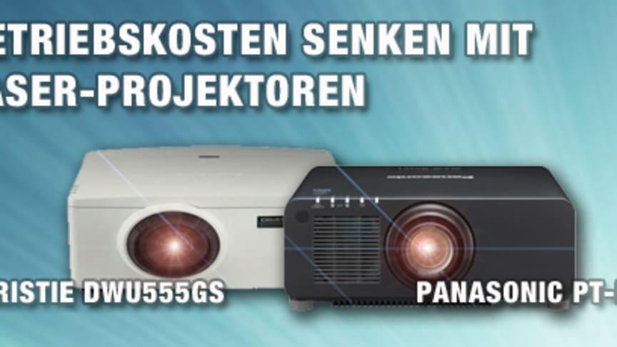 Betriebskosten senken mit Laser-Projektoren