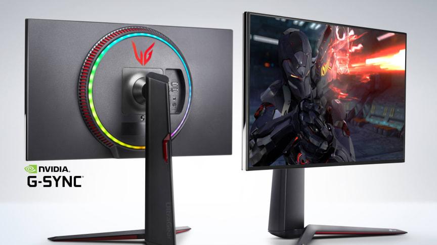 LG lanserar världens första gaming-bildskärm med 4K-upplösning och svarstid på 1ms (GTG)